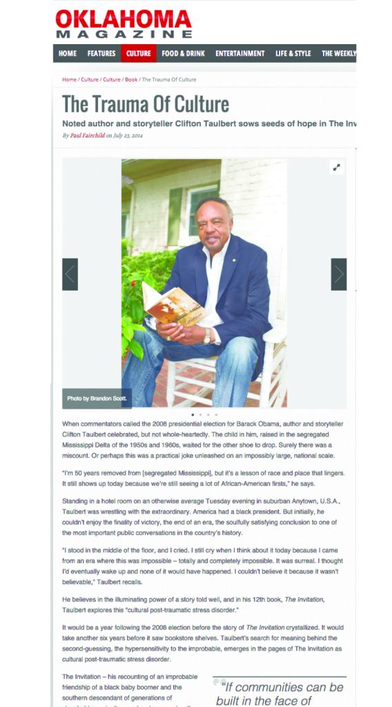 Taulbert - Oklahoma Magazine