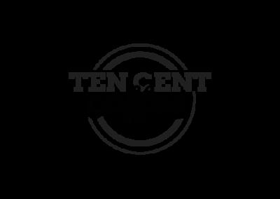 Ten Cent Coffee Logo